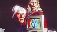 """Trent'anni fa  il primo Amiga,  Andy Warhol """"dipinse""""  Debbie Harry     Spot stile Blade Runner"""