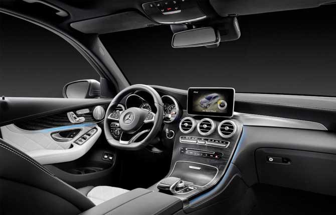 Mercedes pronto al debutto il nuovo suv glc for Mercedes benz gls 350d price in india
