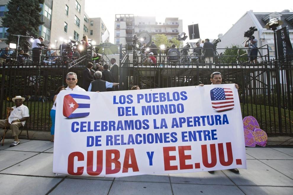 Usa, riapre ambasciata cubana a Washington