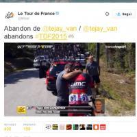 Tour de France, dramma Van Garderen: dalla lotta per la vittoria alle lacrime