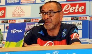 Napoli, Sarri ai tifosi: ''Dateci tempo, faremo grandi cose''