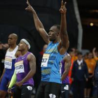 Atletica leggera, Bolt show a Londra