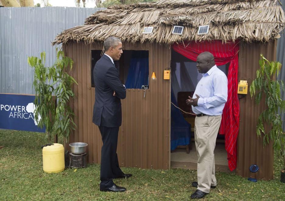 Obama a nairobi sono fiero di voi l 39 africa inizia a for Beautiful house designs kenya