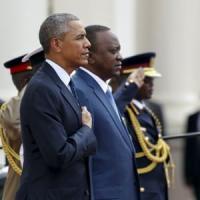 """Obama in Kenya tra lotta a jihadisti e difesa diritti gay: """"L'Africa corre, è in crescita"""""""