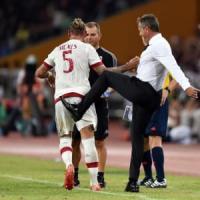 Milan-Inter 1-0: una prodezza di Mexes decide il primo derby stagionale in Cina