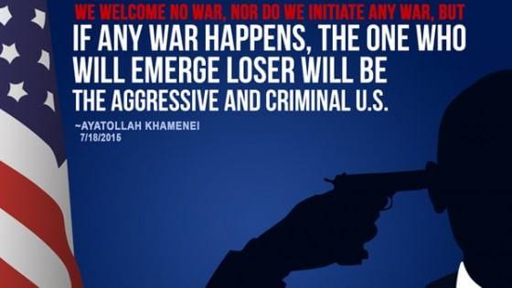 Iran, Khamenei pubblica su Twitter la sagoma di Obama pronto al suicidio
