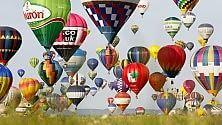 400 mongolfiere in volo Il record mondiale  foto  nel festival della Lorena