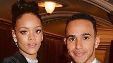 Rihanna e Lewis Hamilton l'amore è super segreto
