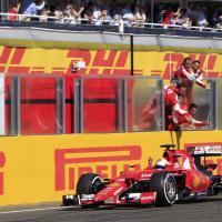 F1, il trionfo di Vettel al Gp di Ungheria