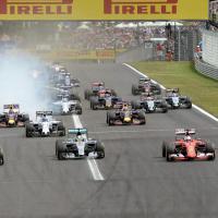 F1, il film della straordinaria partenza di Vettel e Raikkonen al Gp di Ungheria