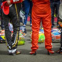 Jules Bianchi, il tributo dei piloti in cerchio al Gp di Ungheria