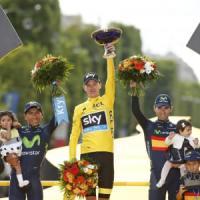 Tour de France, Froome conquista Parigi. Nibali, orgoglio e rimpianto