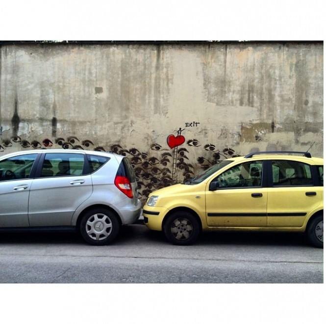 #italianparking, il peggio del parcheggio all'italiana su Instagram