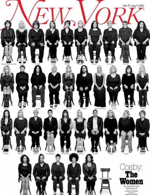 Le donne molestate da Bill Cosby nella copertina del New York Magazine