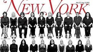 Le donne molestate da Bill Cosby su cover del New York Magazine