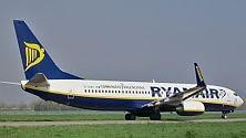 Ryanair, aumentano  i passeggeri e gli utili