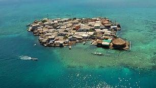 Un angolo di paradiso affollato L'isola più popolata della Terra