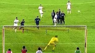 Super punizione di Rodriguez effetto favoloso stende l'Inter