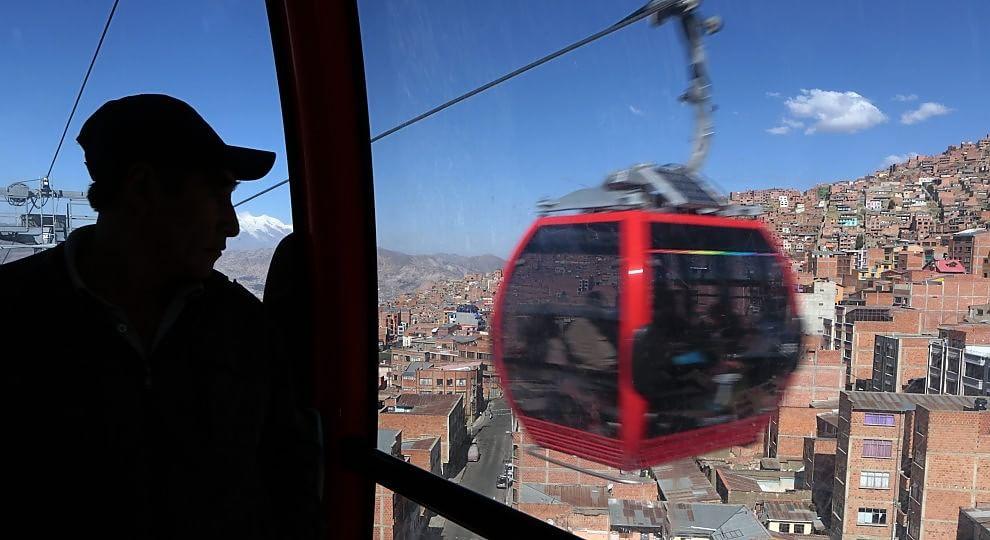 La Paz. Ecco la prima metropolitana dei cieli.    Ft