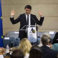 """Renzi: """"Nel 2017 la tassazione su profitto scenderà al 24%"""
