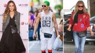 Sarah, Jared, Fergie: niente borsa le star preferiscono il marsupio