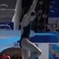Mondiali di nuoto, Keeney sbaglia il tuffo: i giudici le danno 0 punti