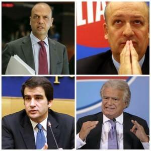 Alfano, Bondi, Fitto, Verdini: due anni di addii a Berlusconi