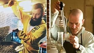 ''Heisenberg'' serve ai tavoli   Il coffee shop come Breaking Bad