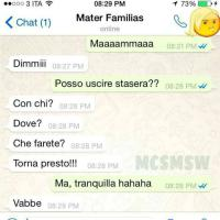 Mamme, figli e Whatsapp: una pagina su Fb per le chat più divertenti