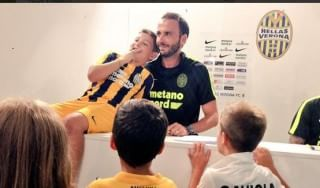 """Verona, Pazzini: """"La coppia con Toni possibile, sogno di tornare in azzurro"""""""