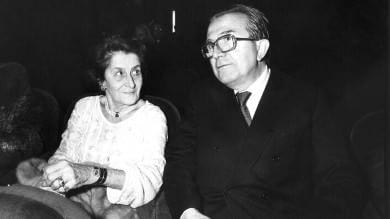 Addio a Livia Andreotti, dal 1945  una vita all'ombra del Divo Giulio