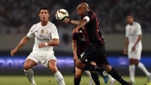 Milan tiene testa al Real Rossoneri ko ai rigori