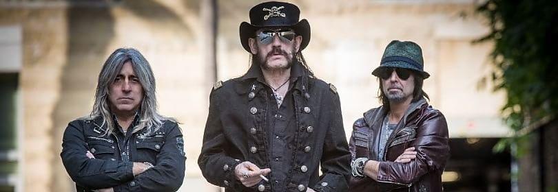 """Motorhead, disco e tour. Lemmy: """"Rock morto? Lo diranno solo i fan"""" -  Video anteprima  /  Le foto"""