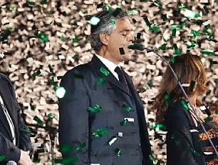 """""""Teatro del silenzio"""" con Bocelli torna la magia"""