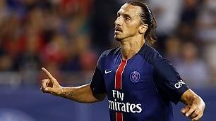 """Ibrahimovic, niente Milan """"Resto al Psg, poi gli Usa''"""