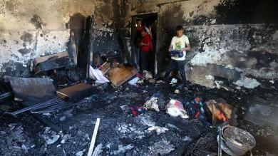 Cisgiordania, coloni all'attacco   Foto   bimbo palestinese muore in un rogo