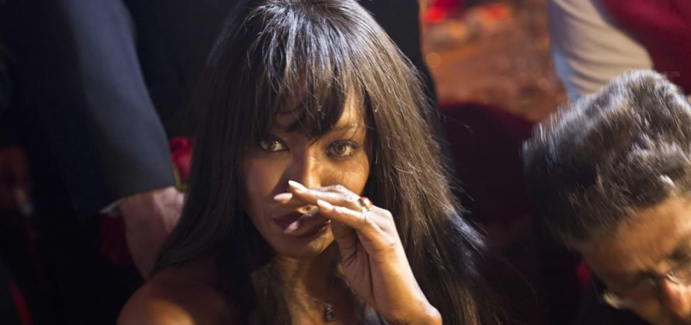 Naomi Campbell condannata (pena sospesa) per aver aggredito un paparazzo siciliano