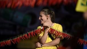Expo, una sfida piccante Una collana da 25mila peperoncini