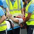 Immobile, botta alla testa l'attaccante in ospedale