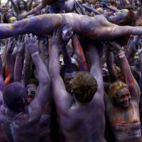 Al Woodstock polacco musica e color party da record