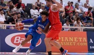 Basket, Trentino Cup: l'Italia supera l'Austria ma Pianigiani non è soddisfatto