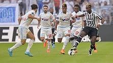 La Juve ancora non va Sconfitta a Marsiglia: 2-0 E si fa male Khedira