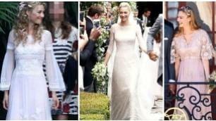 Ecco gli sposi dopo il secondo sì    I cinque abiti indossati da Beatrice     Foto  - Party prima del   matrimonio