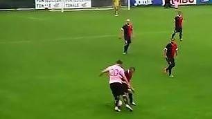 Vazquez fa sognare il Palermo magia: tre tunnel consecutivi