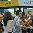 Fiumicino, ancora disagi  per i passeggeri Vueling Interviene la polizia