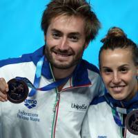 Tuffi, ancora un podio mondiale per la Cagnotto: bronzo nel sincro misto