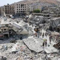 Siria, jet regime cade su città al confine con Turchia