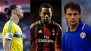 Calciatori sopravvalutati inglesi ci mettono Baggio
