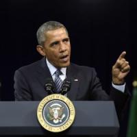 """Clima, Obama: """"Entro 2030 via il 32% delle emissioni di CO2"""""""
