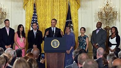 """Obama: """"Entro il 2030  elimineremo un terzo di emissioni CO2""""   video"""